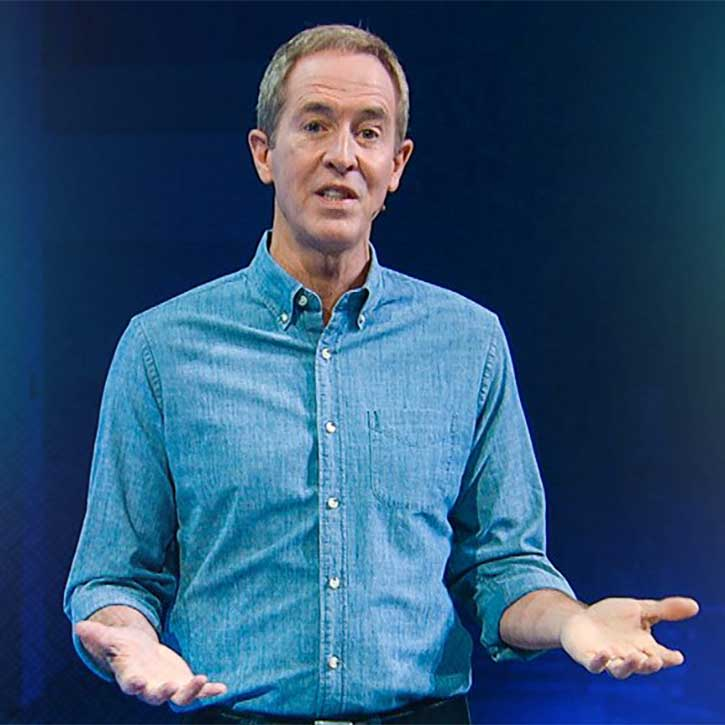Andy Stanley Teaching Image